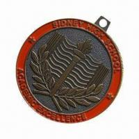 Wholesale High School Award Medal for Students and Teachers, Made of Brass from china suppliers