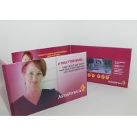 Wholesale 7 Inch Custom Lcd Talking Video Greeting Brochure Card With Led Light from china suppliers