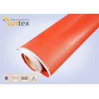 Buy cheap 1mm Thick Both Side Silicone Rubber Coated Fabric Expansion Joint Material For from wholesalers