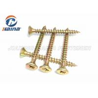 Din particle board screws with cross recess type z