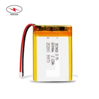 Wholesale 2.22Wh 3.7V 600mAh Pouch Li Polymer Cell HLP503040 from china suppliers
