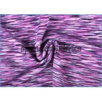 Purple pizazz rainbow space dyed polyester spandex supplex for Lycra space fabric