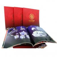 China OEM / ODM Sewing Binding Softcover Book Printing with glossy art paper for Advertising on sale