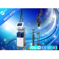 China 10600nm Co2 Fractional Laser Machine For Acne Scars , Radio Frequency Skin Tightening Devices wholesale