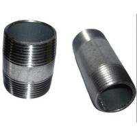 China ASTM A733 ASTM A53 welded Steel Pipe Nipples ,Thread ANSI / ASME B1.20.1 on sale