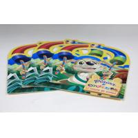 Wholesale Walt Disney Saddle Stitch Book Printing Square Brochures With Die Cut from china suppliers