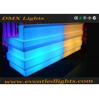 China Outdoor party led illuminated furniture combined led bar counter rechargeable commercial furniture wholesale