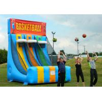 Wholesale Enviromental Inflatable Basketball Hoop With Basketball Shooter Games from china suppliers