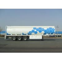 Wholesale Tri Axle Carbon Steel Tanker Trailer For Fuel And Diesel Liquid Transport 45000L from china suppliers