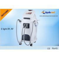 China 2 handpieces RF face lifting machine e-light ipl machine with 16 languages wholesale
