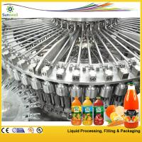 Buy cheap High-speed Hot Filling Machine , Raspberry / Strawberry Juice Processing Machine from wholesalers
