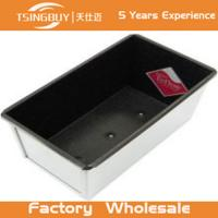 Wholesale Factory direct wholesale aluminium Non-Stick bread pan- toast bread baking pan with lid from china suppliers