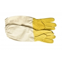 Wholesale Economic Soft And Comfortable Sheepskin Protective Beekeeping Gloves Against Bees from china suppliers