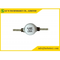 Wholesale LP1054 rechargeable coin cell lithium polymer battery 3.7V 42mah round lipo battery from china suppliers