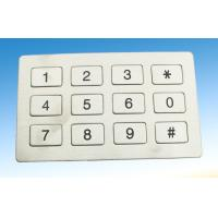 Wholesale Waterproof Industrial Metal Keypad And Key Button With Engrave Letter from china suppliers