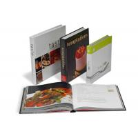 Wholesale Custom Healthy Salmon Recipes Printing Service / Baking Recipe Cookbook Printing from china suppliers