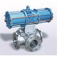 Wholesale Pneumatic Four Way Ball Valve from china suppliers