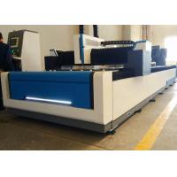 Wholesale High Efficiency CNC Laser Steel Cutting Machine , 1000W 1500 X 6000mm Industrial Laser Cutter from china suppliers