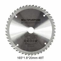Wholesale Multipurpose TCT Woodworking Circular Saw Blade 165mm 48 Teeth For Cutting Metal from china suppliers