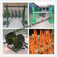 Wholesale Made Of Cast Iron,Ground-Cable Laying,Cable drum trestles,Cable Drum Jacks from china suppliers