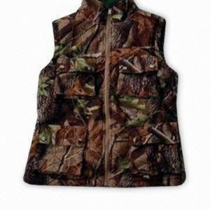 Buy cheap Reversable Hunting Shooting Vest Hunting Set Camo Blaze Orange Fleece Hunting from wholesalers