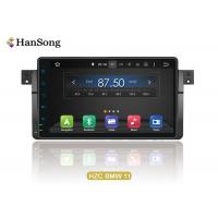 China BMW E46 Android OS 8.X  Double Din Dvd Gps Car Stereo , Vehicle Dvd Player on sale