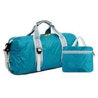 Wholesale Pure Color Waterproof Nylon Foldable Weekend Travel Duffel Bag from china suppliers