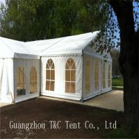 Wholesale Easy Assembled Large Party Tents With Decoration Inside For Holding 200 People from china suppliers