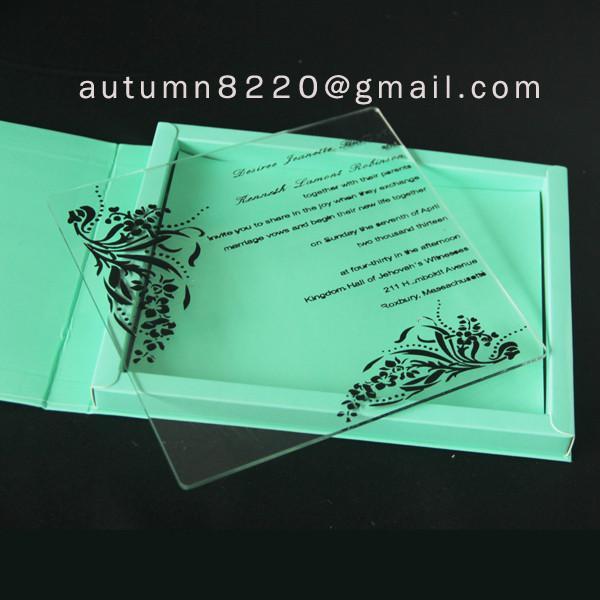 Wedding Invitation Plastic Of Item 106450728
