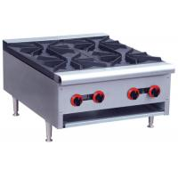 Wholesale Commercial Restaurant Cooking Equipment Table Top Gas Stove With 1 / 2 / 4 / 6 Burners from china suppliers