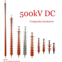 Wholesale Composite Polymeric Silicone Rubber Insulator 500kv Creepage Distance 17600mm from china suppliers