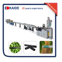 Plastic Pipe Production Line for PE Drip Irrigation Pipe Production line KAIDE factory