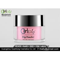 Buy cheap High Shine Gel Dip Powder Crack Resistant Pink And White Dipping Powder from wholesalers