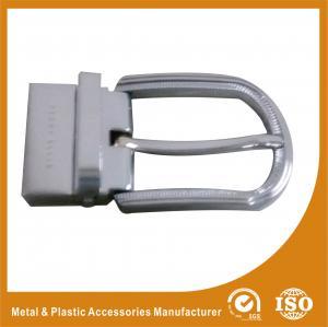 3.5CM Reversible Belt Buckle Mens Silver Belt Buckle Replacement
