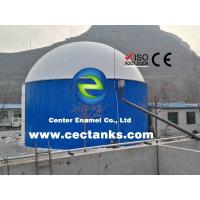 China 30000 Gallon Glass Lined Steel Agricultural Water Storage Tanks With Low Maintenance Cost on sale