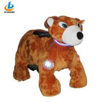 Buy cheap Commercial Arcade Kiddie Rides Large Plush Toy Shape Motorized Animal Scooters from wholesalers