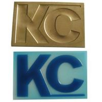 Wholesale Engraved Embossing-Bronzing Copper Plate from china suppliers
