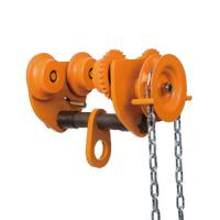 Wholesale 10 ton Chain Fall Trolley Hand Plain Trolley With Chain for Hoist travelling from china suppliers