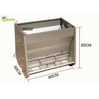 Wholesale Pig Farming Pig Feeding Trough Stainless Steel Hog Creep Auto Self Feeder System from china suppliers