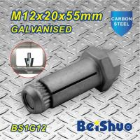 Buy cheap Carbon steel Zinc plated Hot dip Galanised Expansion Hex Anchor Bolt Grade 8.8 from wholesalers