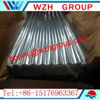 Wholesale 0.16 800 mm  galvanized corrugated steel sheet / metal roofing sheet from china suppliers