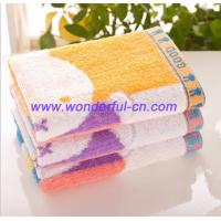 Wholesale Promotional best terry kids cute monogrammed hand towels from china suppliers