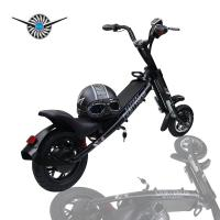 """Wholesale Tide Harley Foldable Electric Bike 12 """" 250W Adult Lithium Battery Installation from china suppliers"""