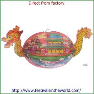 China dragon lantern,festival decoration,paper lantern on sale