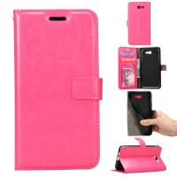 Wallet Stand Samsung J5 Leather Case , Dirt Proof Samsung J5 Flip Cover