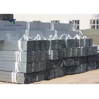 Wholesale Carports Hot Rolled Galvanized Steel Square Tubing 6M / 12m Cut To Size Customized from china suppliers