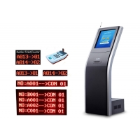Wholesale CE Windows System Cold Rolled Steel Floor Patient Queuing System from china suppliers