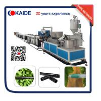 80m/min Cylindrical Drip Irrigation Pipe Extrusion Line Supplier from China KAIDE