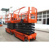 Wholesale Manganese Steel Self Propelled Aerial Work Platform Auto Brake System from china suppliers