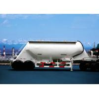 Wholesale Carbon Steel Dry Bulk Pneumatic Tank Trailers , Bulk Cement Transport Trailer from china suppliers